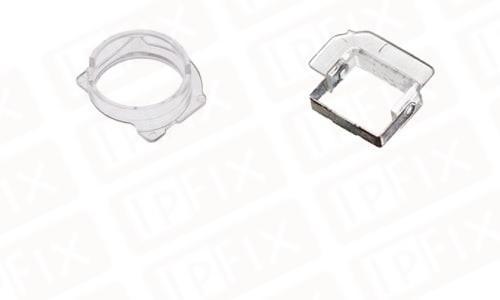 iPhone 5/5C/5S/SE - Lyssensor og Kamera holder (sæt)