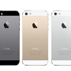 iPhone 5S - Tom Bagplade Kvalitet A (Flere Farver)