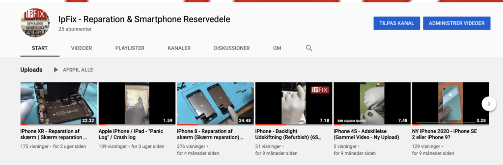 IpFix - Youtube Kanal
