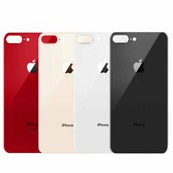 iPhone 8 Plus - Bagside Glas (BIG HOLE) (Flere Farver)