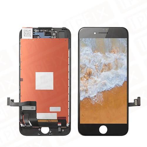 iPhone 8 - Skærm (TS8 - Premium In-Cell) Komplet Glas/LCD (Sort)