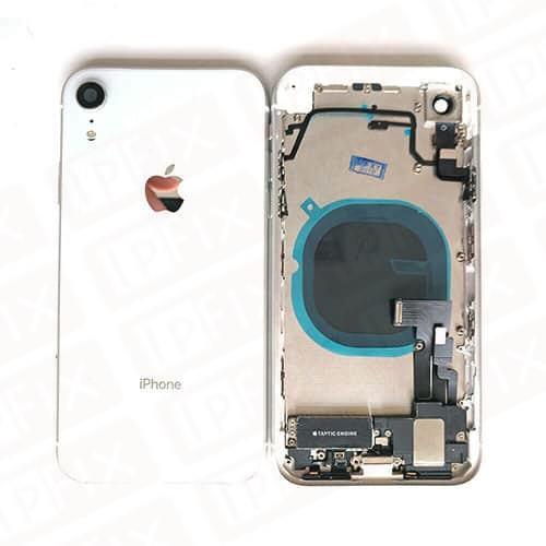 iPhone XR bagside Hvid