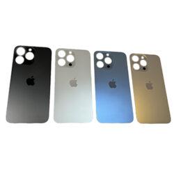 iPhone 13 Pro - Bagside Glas (BIG HOLE) (Flere Farver)