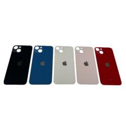 iPhone 13 - Bagside Glas (BIG HOLE) (Flere Farver)
